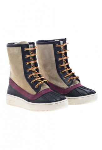 Zapatos Viamo (Calzado):        Viamo   Botinetas Odett Beige